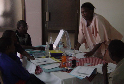 Training Trainers in Kampala